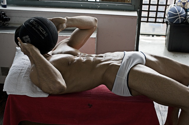 Nude Photographer Rick Day for Paragon Men Muscle Sportsmen