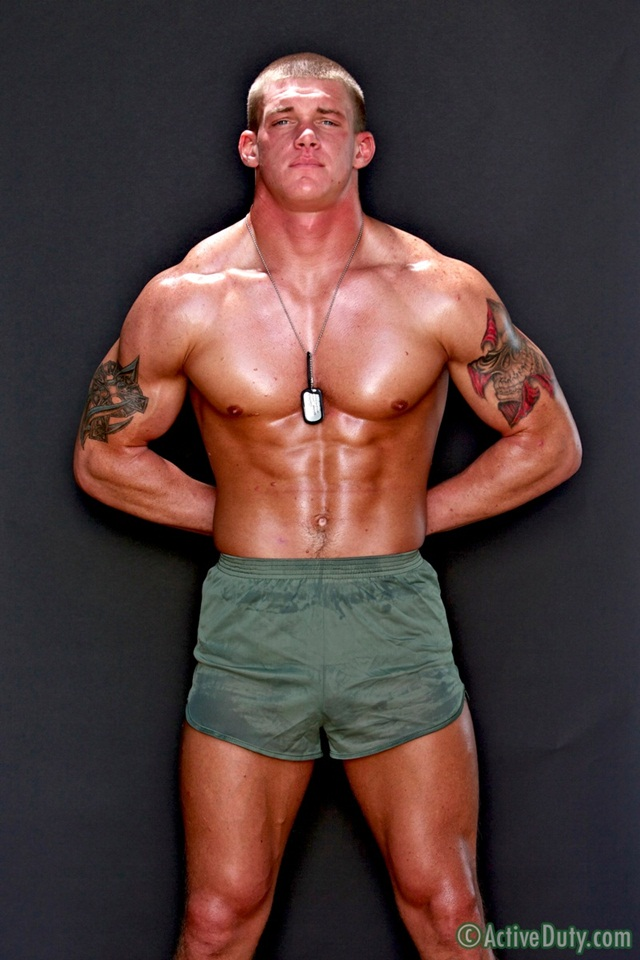 Tanner is 23 years old pure American naked beef at Active Duty 1 Ripped Muscle Bodybuilder Strips Naked and Strokes His Big Hard Cock photo1 - Straight Tanner is 23 years old pure American naked beef at Active Duty