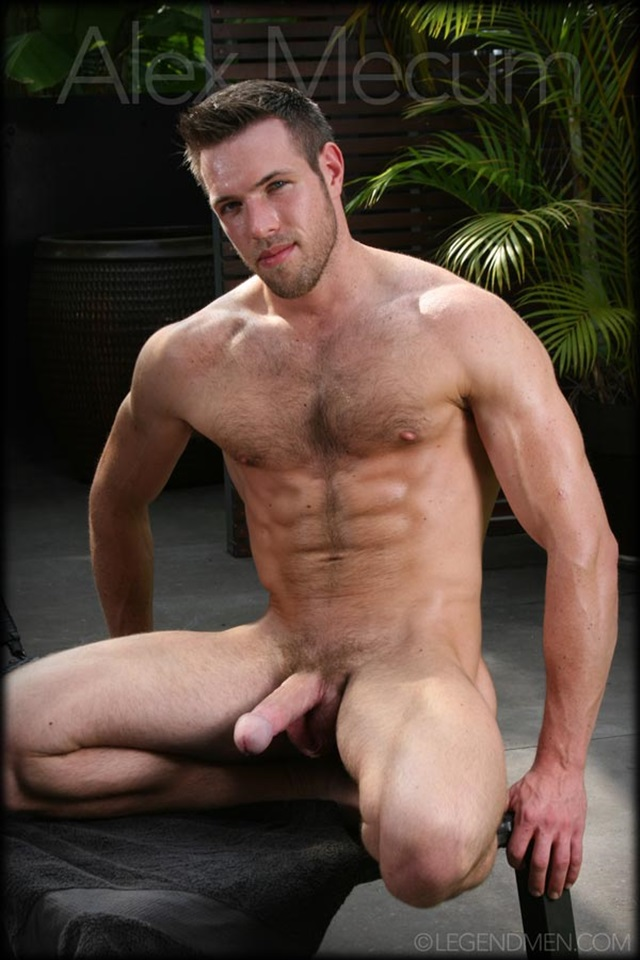 Gay man muscular naked