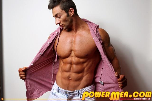 Chris Bortone PowerMen nude gay porn muscle men hunks big uncut cocks tattooed ripped bodies hung massive naked bodybuilder 001 gallery video photo - Chris Bortone