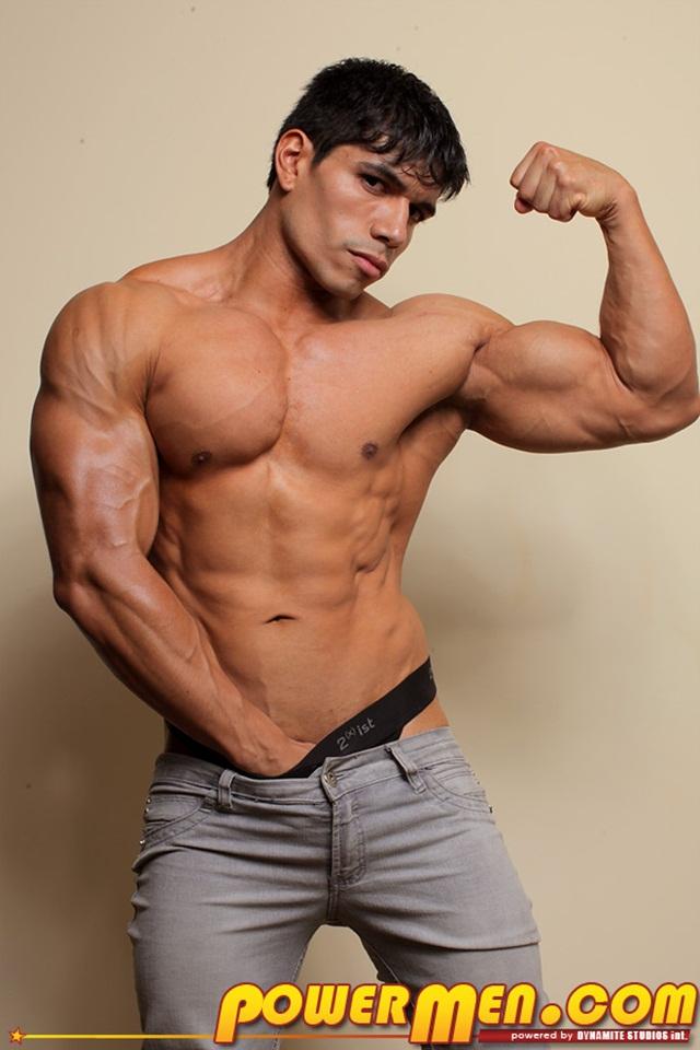 Powermen muscle bodybuilder naked hunk Tommy Rockets11 - Tommy Rockets at Powermen