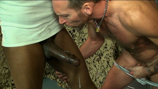 Raw and Rough huge dildo boot licking gay sex raw ass fucking no condoms 004 photo2 - Raw and Rough: Military Horse Cock pt 2