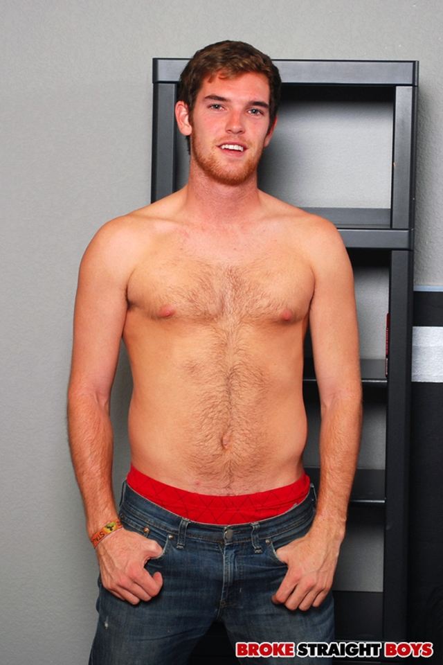 Sexy young straight hunk Tyler Blaze jerking huge cumshot Broke Straight Boys 01 photo - Sexy young straight hunk Tyler Blaze jerking for cash at Broke Straight Boys