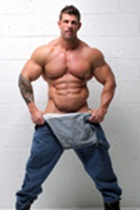 Zeb Atlas gallery 001 Ripped Muscle Bodybuilder Strips Naked and Strokes His Big Hard Cock for at Muscle Hunks photo2 - Muscle Hunks - Zeb Atlas Gallery