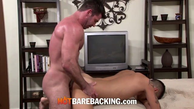 hot barebacking  Billy Santoro and Mark Rivera