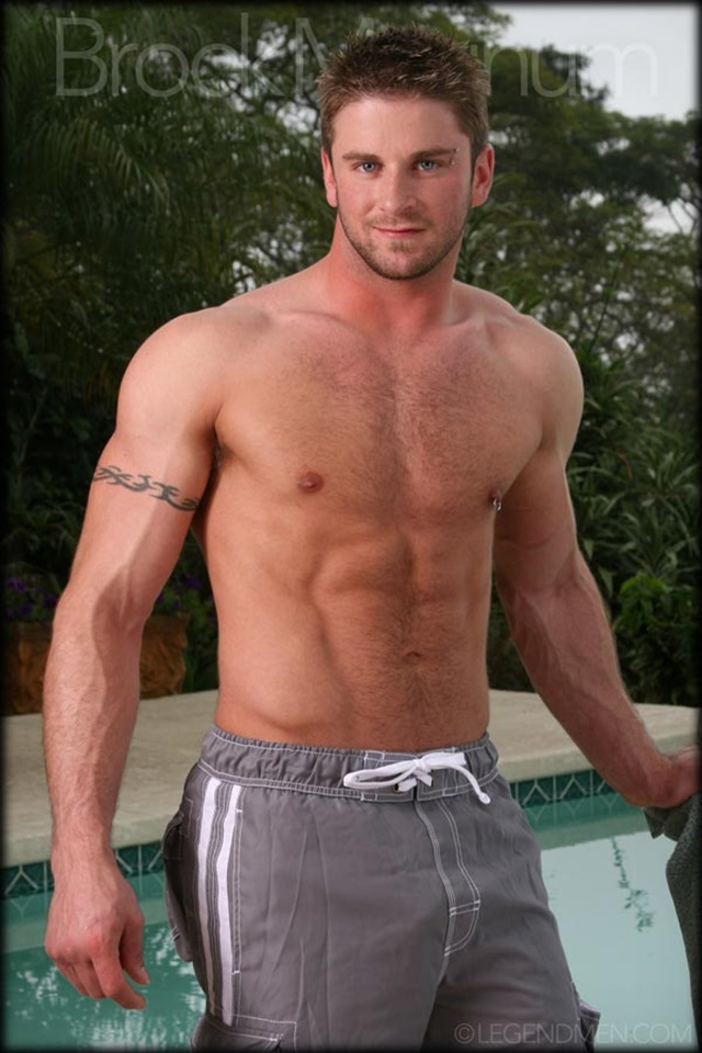 muscle men 2 legend men  Brock Magnum