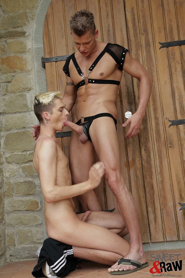 sweet and raw  Damian Dickey and Connor Levi