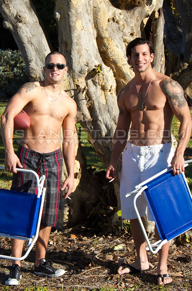 island studs  Austin and Eyal