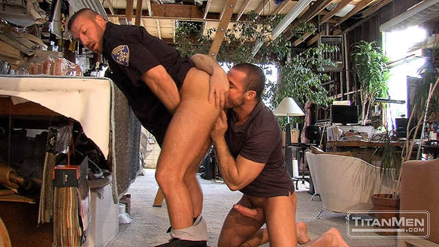 titan men  Jessy Ares and Hunter Marx
