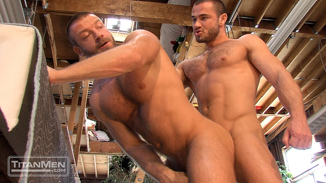 titan men  Jessy Ares and Hunter Marx