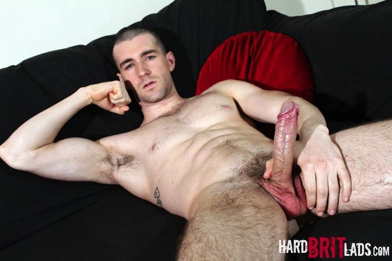 HardBritLads Woody Fox flexes horny cock jerk off sexy huge cum shot gay porn star 001 tube download torrent gallery photo - Woody Fox