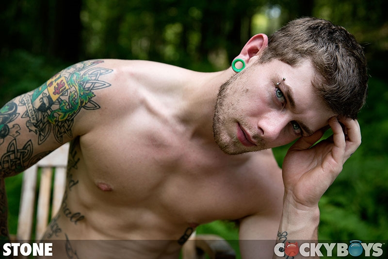 cocky boys  Cockyboys Stone tattooed pierced bad boy body jerks big cock hot young boy naked men wankign solo 001 tube download torrent gallery sexpics photo Stone