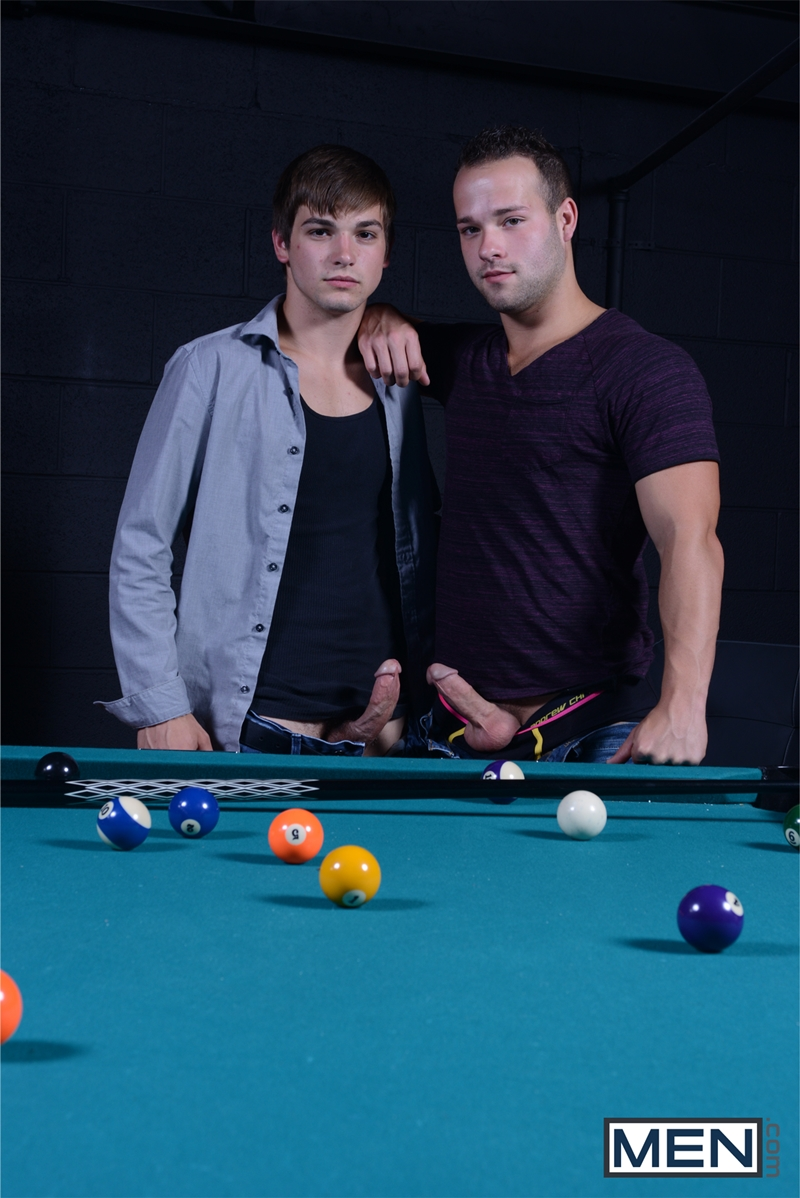 men  Johnny Rapid and Luke Adams