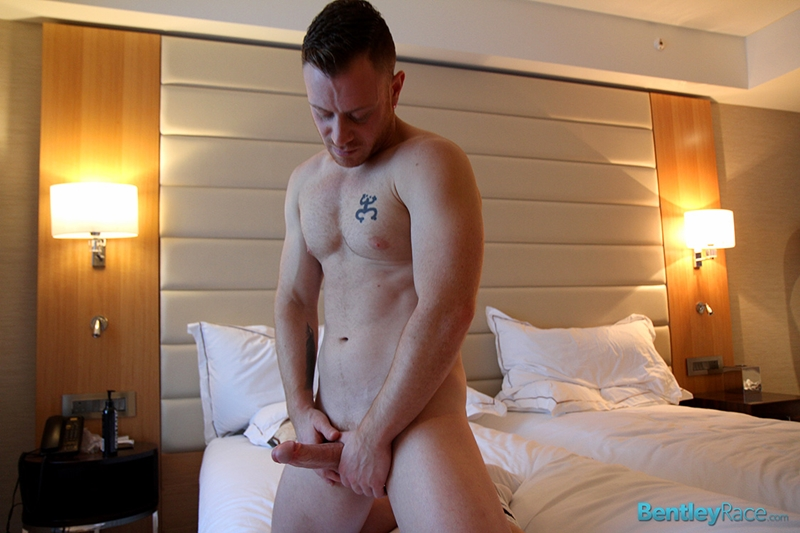 BentleyRace New Yorker Saxon West chunky muscly young man cock gay porn squirts cum sexy men jockstrap 003 tube video gay porn gallery sexpics photo - Sexy young New Yorker Saxon West squirts cum right across the bathroom floor