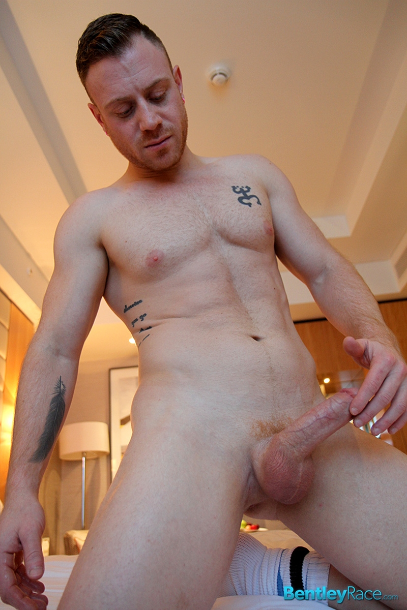 BentleyRace New Yorker Saxon West chunky muscly young man cock gay porn squirts cum sexy men jockstrap 015 tube video gay porn gallery sexpics photo - Sexy young New Yorker Saxon West squirts cum right across the bathroom floor