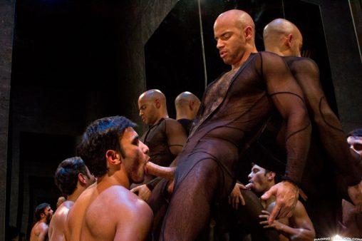 RagingStallion-dark-room-Dorian-Ferro-muscle-worship-Sean-Zevran-big-low-hanging-balls-huge-erect-hard-cock-to-ass-muscled-hairy-chest-001-gay-porn-sex-gallery-pics-video-photo
