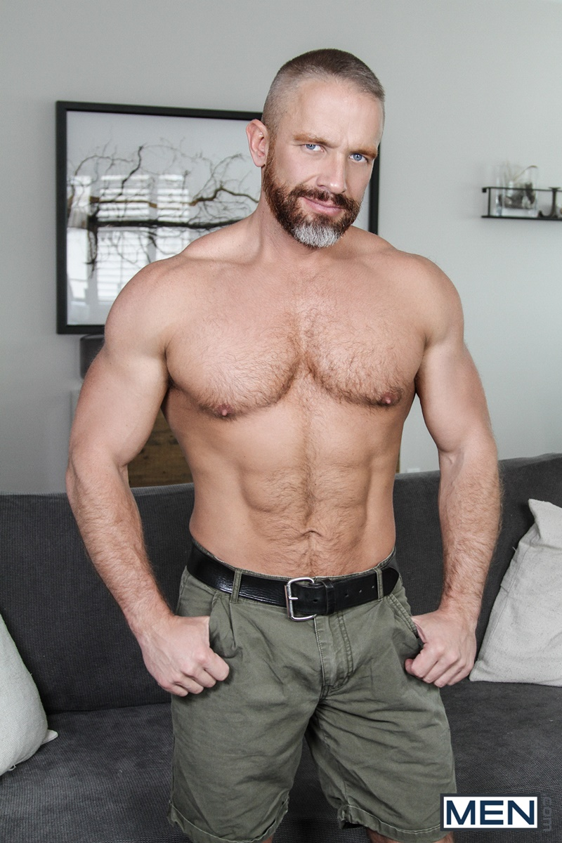 Men com hairy chest muscle studs Vincent Diaz older gay guy mature Dirk Caber beard cocksucking ass rimming fucking 003 gay porn sex gallery pics video photo - Hardcore threesome Dalton Briggs, Dirk Caber and Vincent Diaz anal fucking
