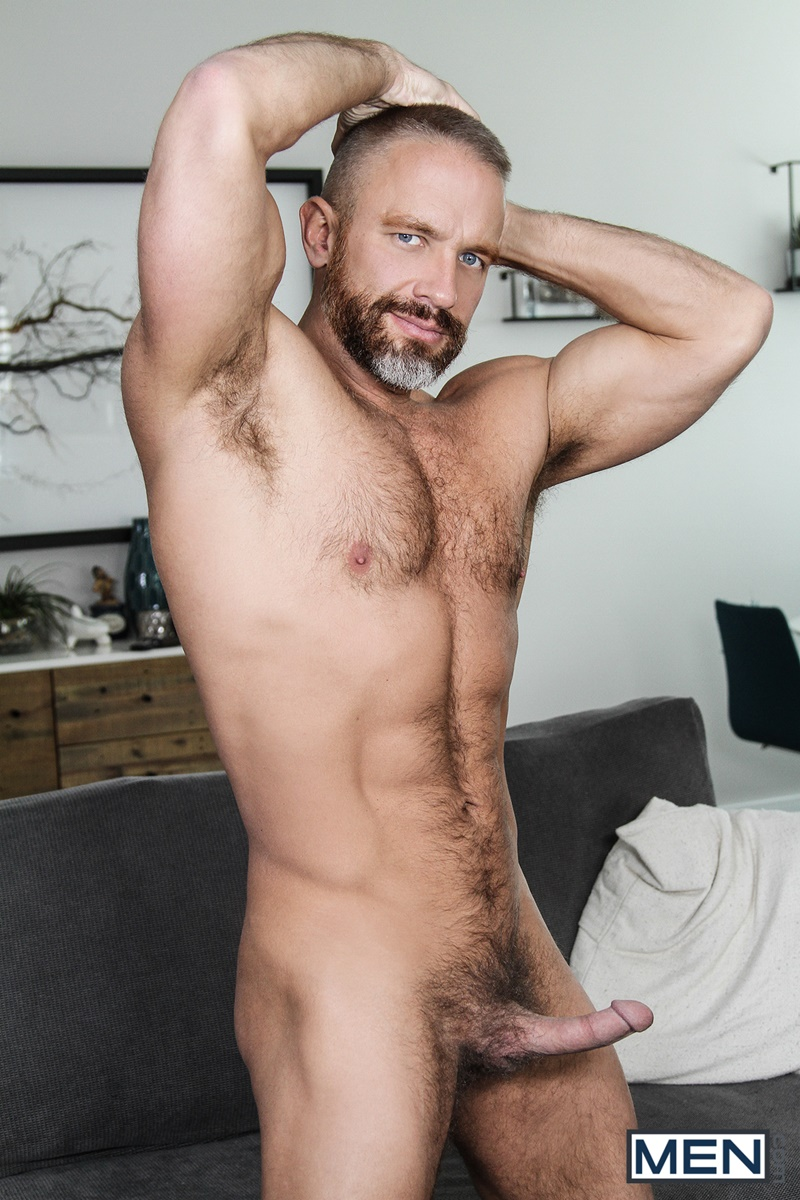 Men com hairy chest muscle studs Vincent Diaz older gay guy mature Dirk Caber beard cocksucking ass rimming fucking 006 gay porn sex gallery pics video photo - Hardcore threesome Dalton Briggs, Dirk Caber and Vincent Diaz anal fucking