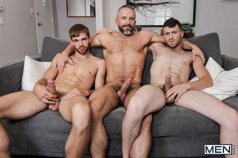 Men com hairy chest muscle studs Vincent Diaz older gay guy mature Dirk Caber beard cocksucking ass rimming fucking 008 gay porn sex gallery pics video photo - Hardcore threesome Dalton Briggs, Dirk Caber and Vincent Diaz anal fucking