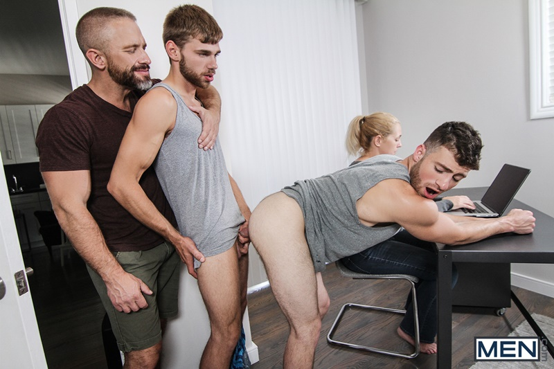 Men com hairy chest muscle studs Vincent Diaz older gay guy mature Dirk Caber beard cocksucking ass rimming fucking 012 gay porn sex gallery pics video photo - Hardcore threesome Dalton Briggs, Dirk Caber and Vincent Diaz anal fucking