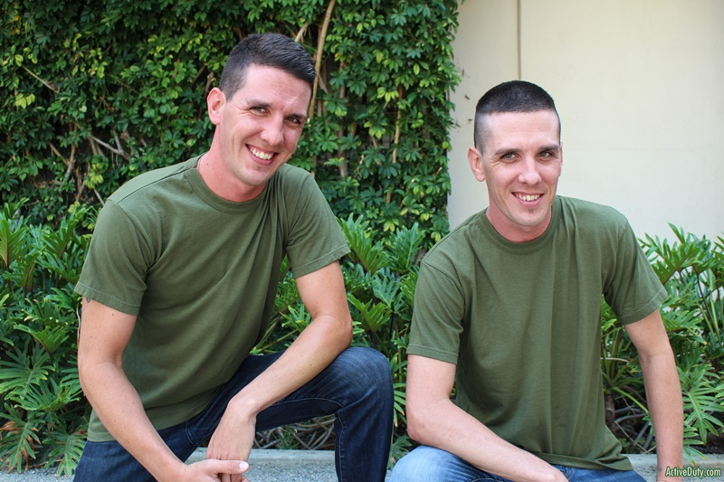 Gay Military Twins