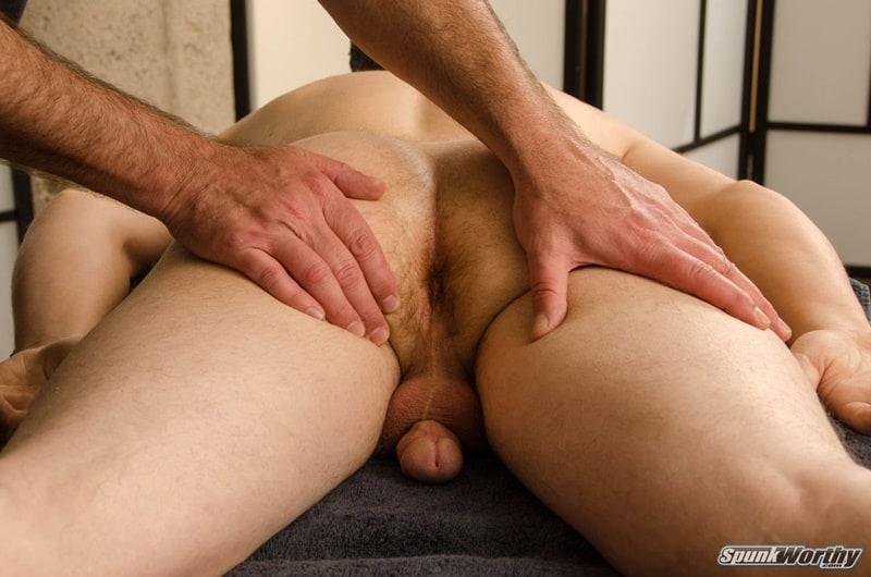 Spunkworthy gay porn straight young dude happy ending man on man massage sex pics Nolan 009 gallery video photo - Straight young dude Nolan's happy ending man on man massage