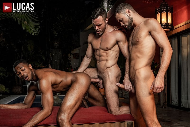 Cocks with long naked men