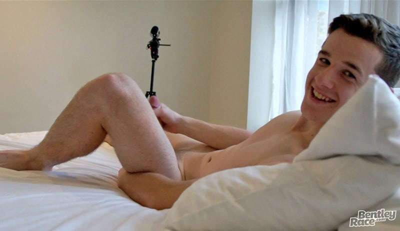 Men for Men Blog Brad-Hunter-20-year-old-boy-tight-speedos-wanks-thick-dick-massive-cum-BentleyRace-018-gay-porn-pictures-gallery In just his tight speedos Brad Hunter wanks his thick dick to a massive cum explosion Bentley Race