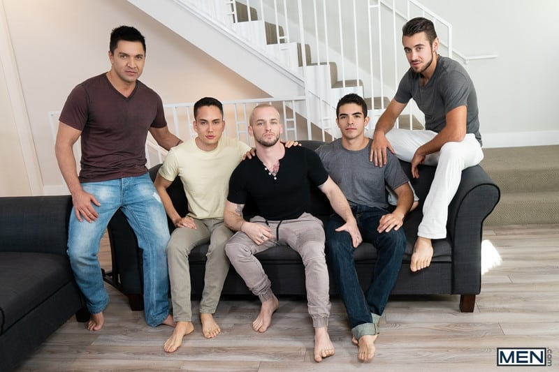 Men for Men Blog Cazden-Hunter-Dante-Colle-Colton-Grey-Dominic-Pacifico-Marcus-Tresor-Gay-group-orgy-Men-001-gay-porn-pictures-gallery Gay group orgy with Cazden Hunter, Dante Colle, Colton Grey, Dominic Pacifico and Marcus Tresor Men