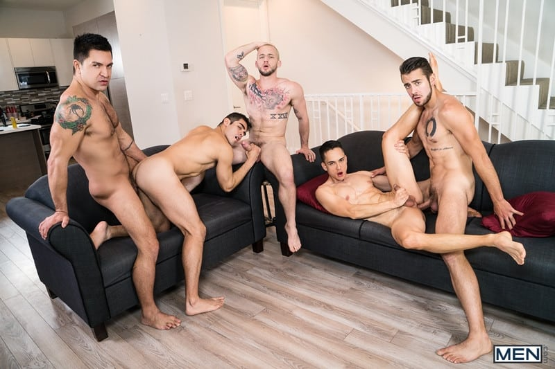 Men for Men Blog Cazden-Hunter-Dante-Colle-Colton-Grey-Dominic-Pacifico-Marcus-Tresor-Gay-group-orgy-Men-010-gay-porn-pictures-gallery Gay group orgy with Cazden Hunter, Dante Colle, Colton Grey, Dominic Pacifico and Marcus Tresor Men