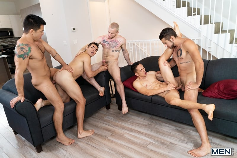 Men for Men Blog Cazden-Hunter-Dante-Colle-Colton-Grey-Dominic-Pacifico-Marcus-Tresor-Gay-group-orgy-Men-012-gay-porn-pictures-gallery Gay group orgy with Cazden Hunter, Dante Colle, Colton Grey, Dominic Pacifico and Marcus Tresor Men