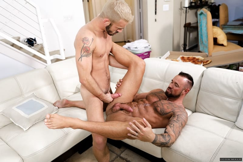Men for Men Blog Michael-Roman-Jett-Rink-kiss-gay-porn-stars-hardcore-ass-fucking-young-dudes-cum-IconMale-014-gay-porn-pictures-gallery Michael Roman and Jett Rink kiss passionately then the hardcore ass fucking begins ending in both young dudes covered in cum Icon Male