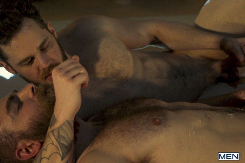 Matthew-Camp-hairy-bearded-hunks-steamy-hot-sex-session-Levi-Wolfe-Hawaii-fuck-long-hard-Men-038-FitYoungMen-Young-stud-Paolo-Ferrari-ripped-body-big-uncut-dick