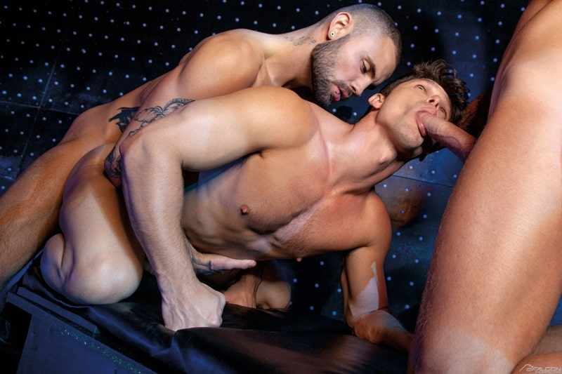 Josh-Moore-Jeffrey-Lloyds-huge-cocks-spit-roasting-Devin-Franco-hot-bubble-butt-ass-hole-FalconStudios-011-Gay-Porn-Pics