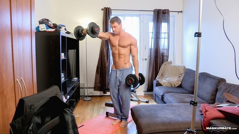 Big-muscle-man-Maskurbate-Brad-strips-naked-jerking-huge-uncut-dick-cum-003-Gay-Porn-Pics