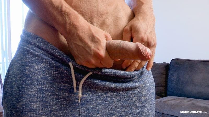 Big-muscle-man-Maskurbate-Brad-strips-naked-jerking-huge-uncut-dick-cum-005-Gay-Porn-Pics