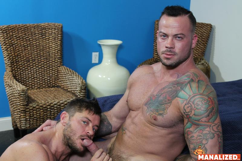 Manalized hairy muscle hunk Jack Andy bare hole fucked big muscled stud Sean Duran huge cock 10 image gay porn - Manalized hairy muscle hunk Jack Andy's bare hole fucked by big muscled stud Sean Duran's huge cock