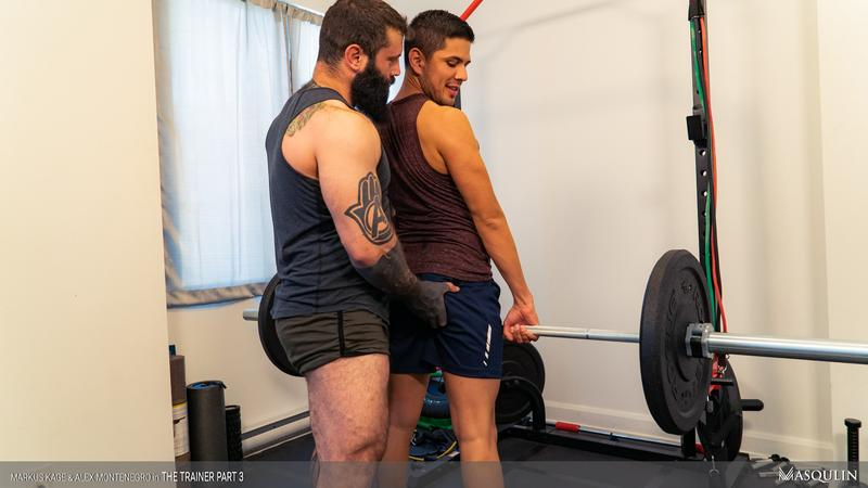 Masqulin muscle man Markus Kage huge thick erection raw fucks young pup Alex Montenegro tight bubble ass 15 image gay porn - Masqulin muscle man Markus Kage's huge thick erection raw fucks young pup Alex Montenegro's tight bubble ass