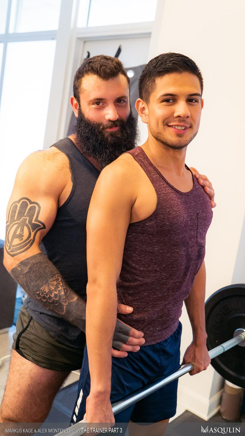 Masqulin muscle man Markus Kage huge thick erection raw fucks young pup Alex Montenegro tight bubble ass 18 image gay porn - Masqulin muscle man Markus Kage's huge thick erection raw fucks young pup Alex Montenegro's tight bubble ass