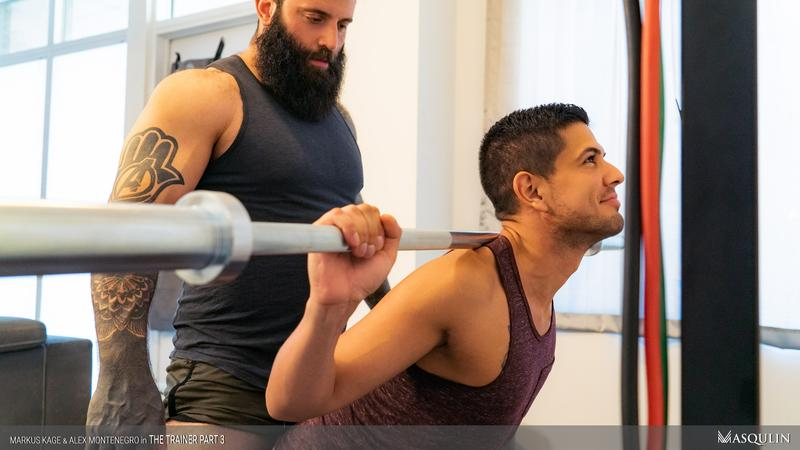 Masqulin muscle man Markus Kage huge thick erection raw fucks young pup Alex Montenegro tight bubble ass 21 image gay porn - Masqulin muscle man Markus Kage's huge thick erection raw fucks young pup Alex Montenegro's tight bubble ass