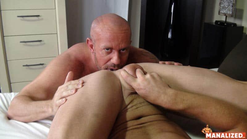 Ripped younger hunk Saxon West huge dick barebacking hot muscle daddy Matt Stevens bubble butt 5 image gay porn - Ripped younger hunk Saxon West's huge dick barebacking hot muscle daddy Matt Stevens's bubble butt