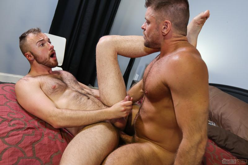 Hairy hunk Cody Moore hot bubble butt fucked muscle stud Jack Andy Pride Studios 13 image gay porn - Hairy hunk Cody Moore's hot bubble butt fucked by muscle stud Jack Andy at Pride Studios