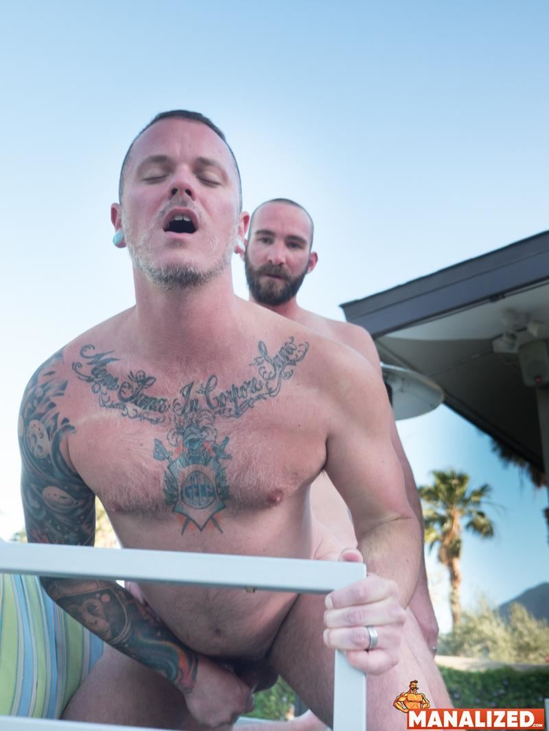 Manalized hot muscle dudes Tyler Phoenix Max Cameron raw big dick flip flop anal fucking 14 image gay porn - Manalized hot muscle dudes Tyler Phoenix and Max Cameron raw big dick flip flop anal fucking