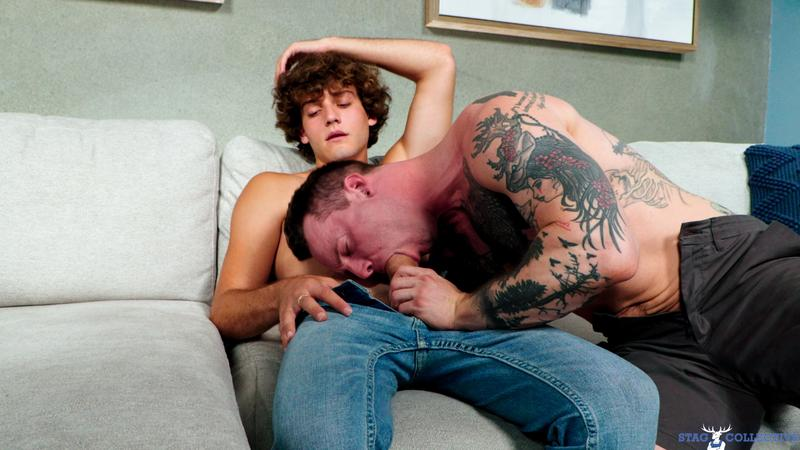 Horny young dude Tyler James huge thick dick raw fucks Blake Wilder hot hole Stag Collective 12 image gay porn - Horny young dude Tyler James's huge thick dick raw fucks Blake Wilder's hot hole at Stag Collective