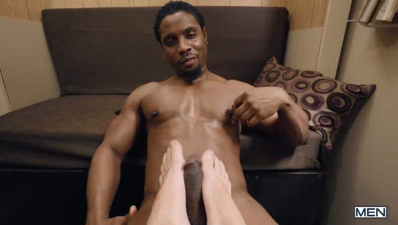 Men horny ebony hunk DeAngelo Jackson big black dick fucking young stud Theo Brady bubble butt 7 image gay porn - Men horny ebony hunk DeAngelo Jackson's big black dick fucking young stud Theo Brady's bubble butt