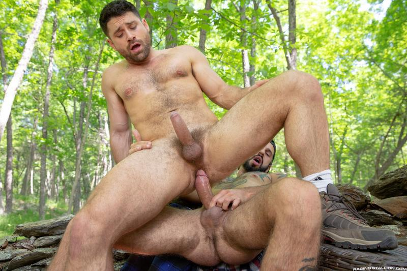 Raging Stallion sexy hairy dude Beau Butler hot asshole raw fucked Romeo Davis huge thick cock 10 image gay porn - Raging Stallion sexy hairy dude Beau Butler's hot asshole raw fucked by Romeo Davis's huge thick cock