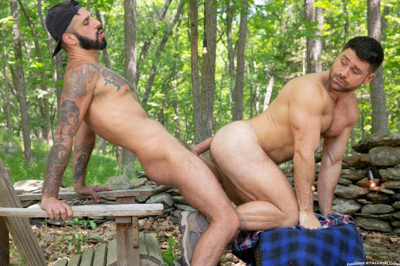 Raging Stallion sexy hairy dude Beau Butler hot asshole raw fucked Romeo Davis huge thick cock 12 image gay porn - Raging Stallion sexy hairy dude Beau Butler's hot asshole raw fucked by Romeo Davis's huge thick cock