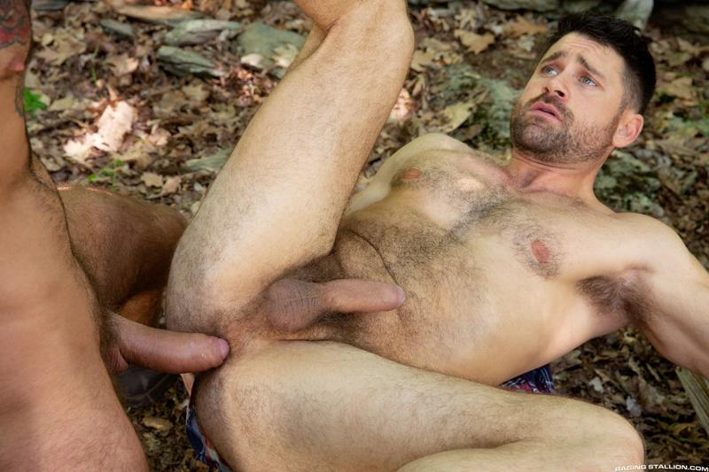 Raging Stallion sexy hairy dude Beau Butler hot asshole raw fucked Romeo Davis huge thick cock 14 image gay porn - Raging Stallion sexy hairy dude Beau Butler's hot asshole raw fucked by Romeo Davis's huge thick cock