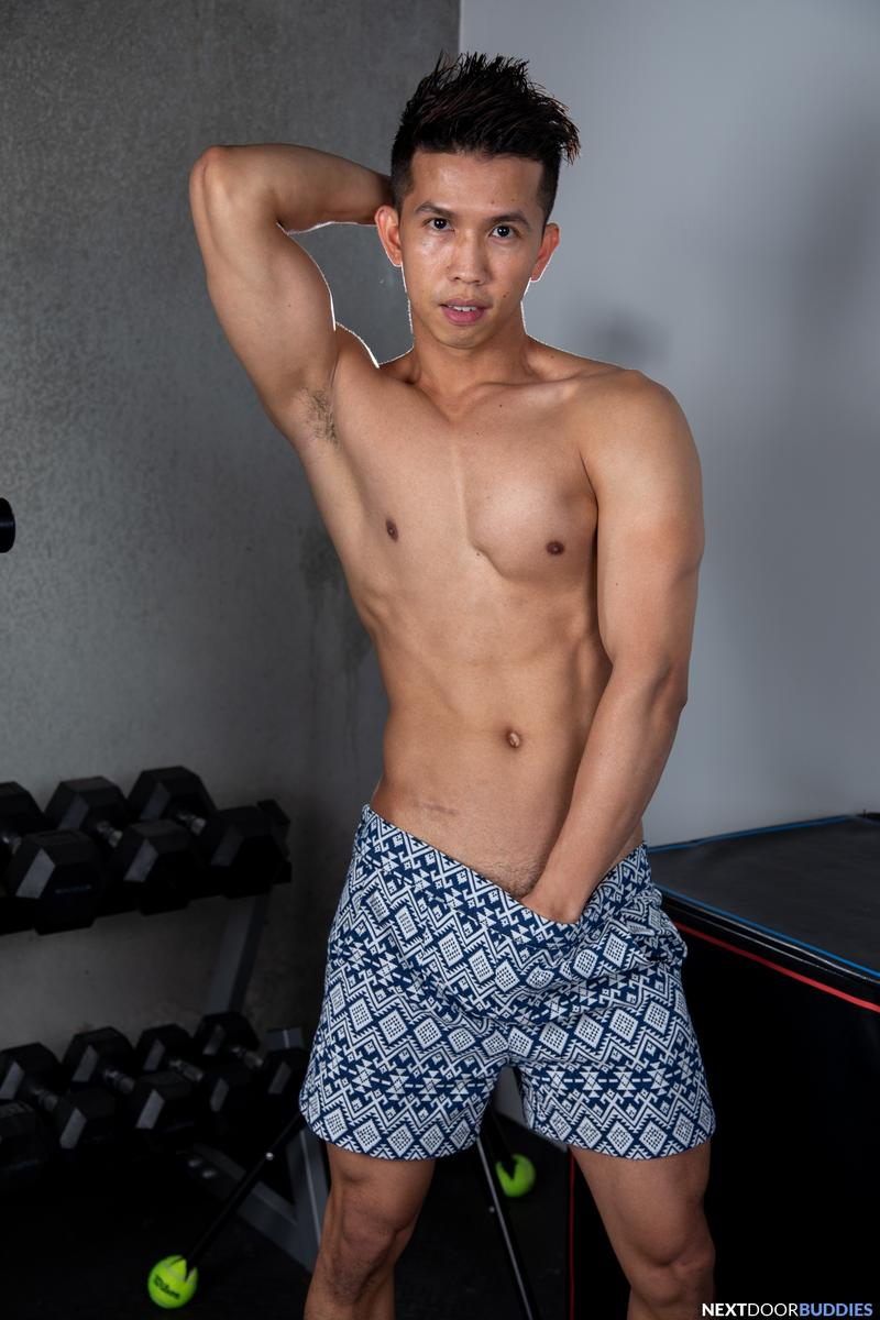 Sexy Asian stud Levy Foxx hot raw hole bare fucked Shane Cook big thick dick Next Door Buddies 2 image gay porn - Sexy Asian stud Levy Foxx's hot raw hole bare fucked by Shane Cook's big thick dick at Next Door Buddies