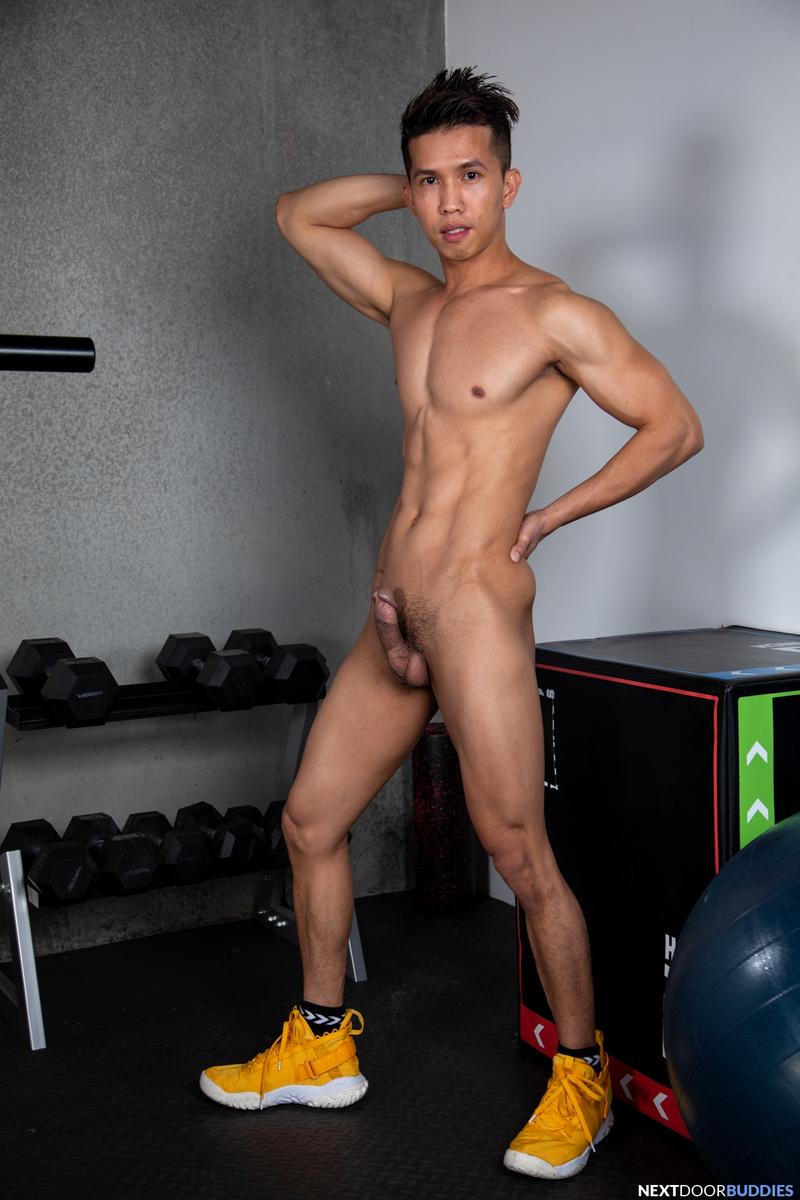 Sexy Asian stud Levy Foxx hot raw hole bare fucked Shane Cook big thick dick Next Door Buddies 3 image gay porn - Sexy Asian stud Levy Foxx's hot raw hole bare fucked by Shane Cook's big thick dick at Next Door Buddies
